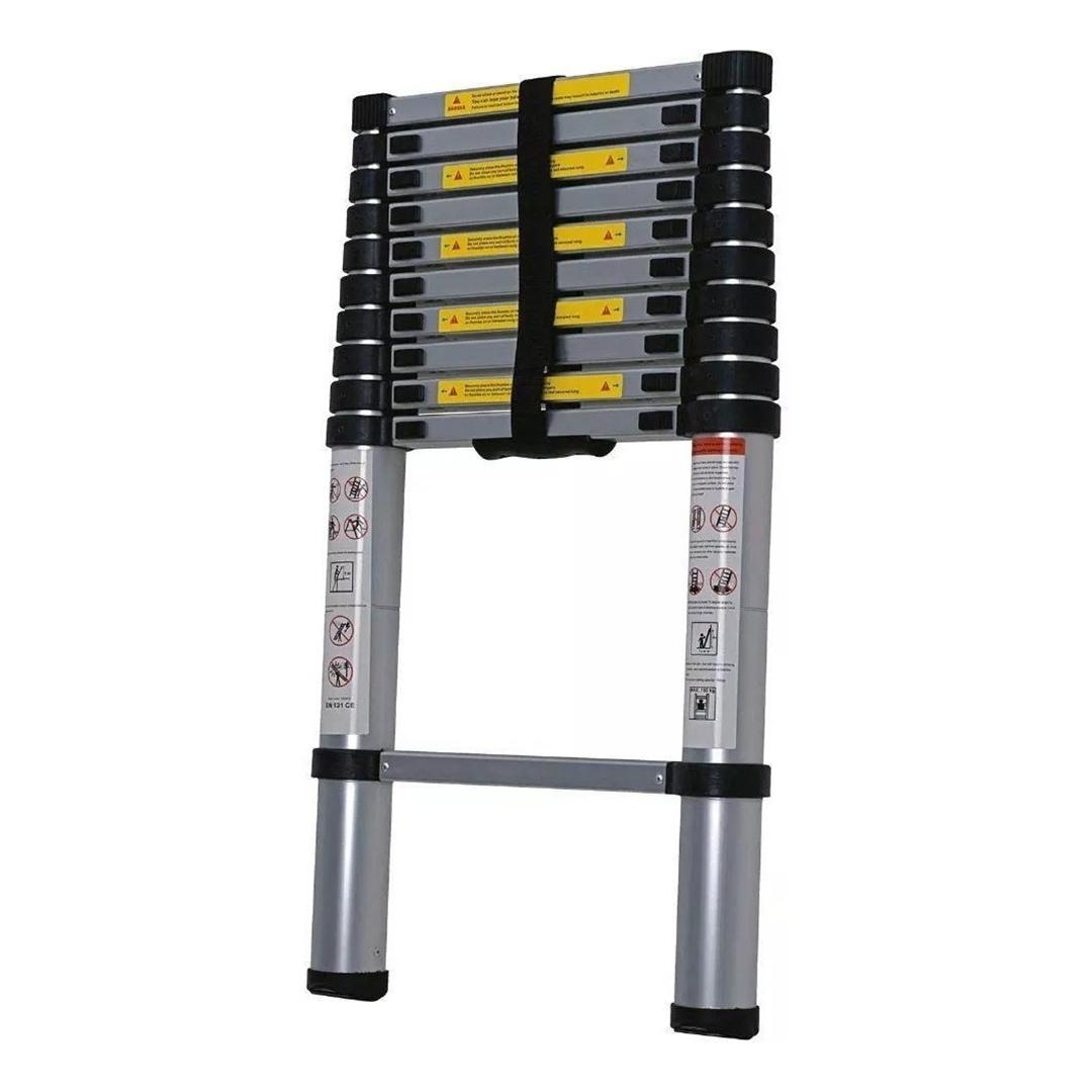 Escada Telescopica Aluminio 11 Degraus 3,20mt Worker - 428175
