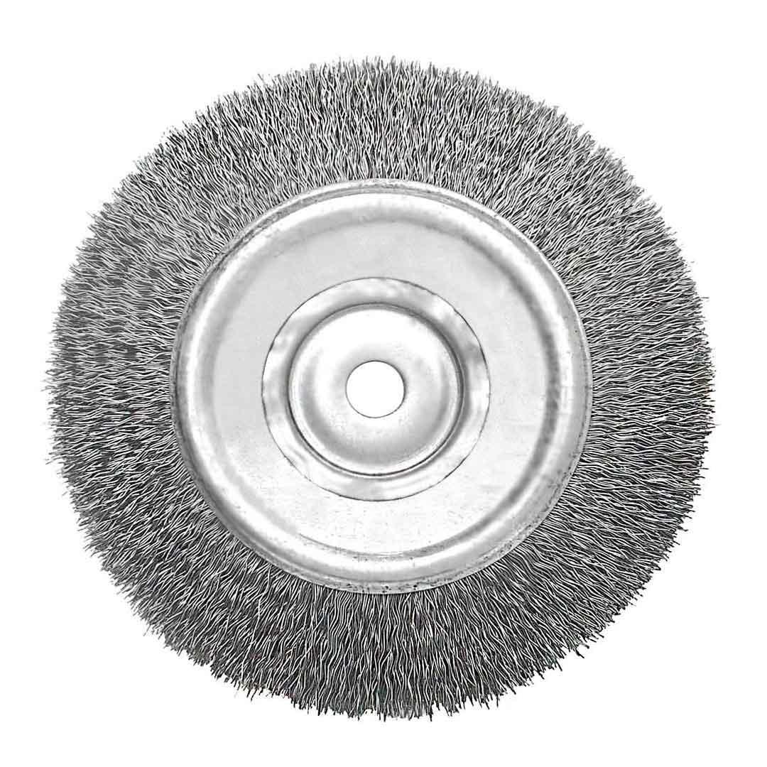 Escova Aco Carbono Circular 6