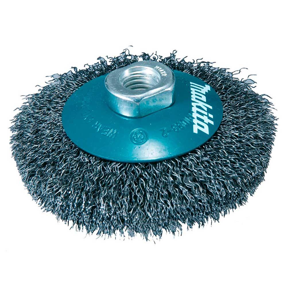 """Escova de aço ondulado tipo cônica 4"""" D-39827- MAKITA"""