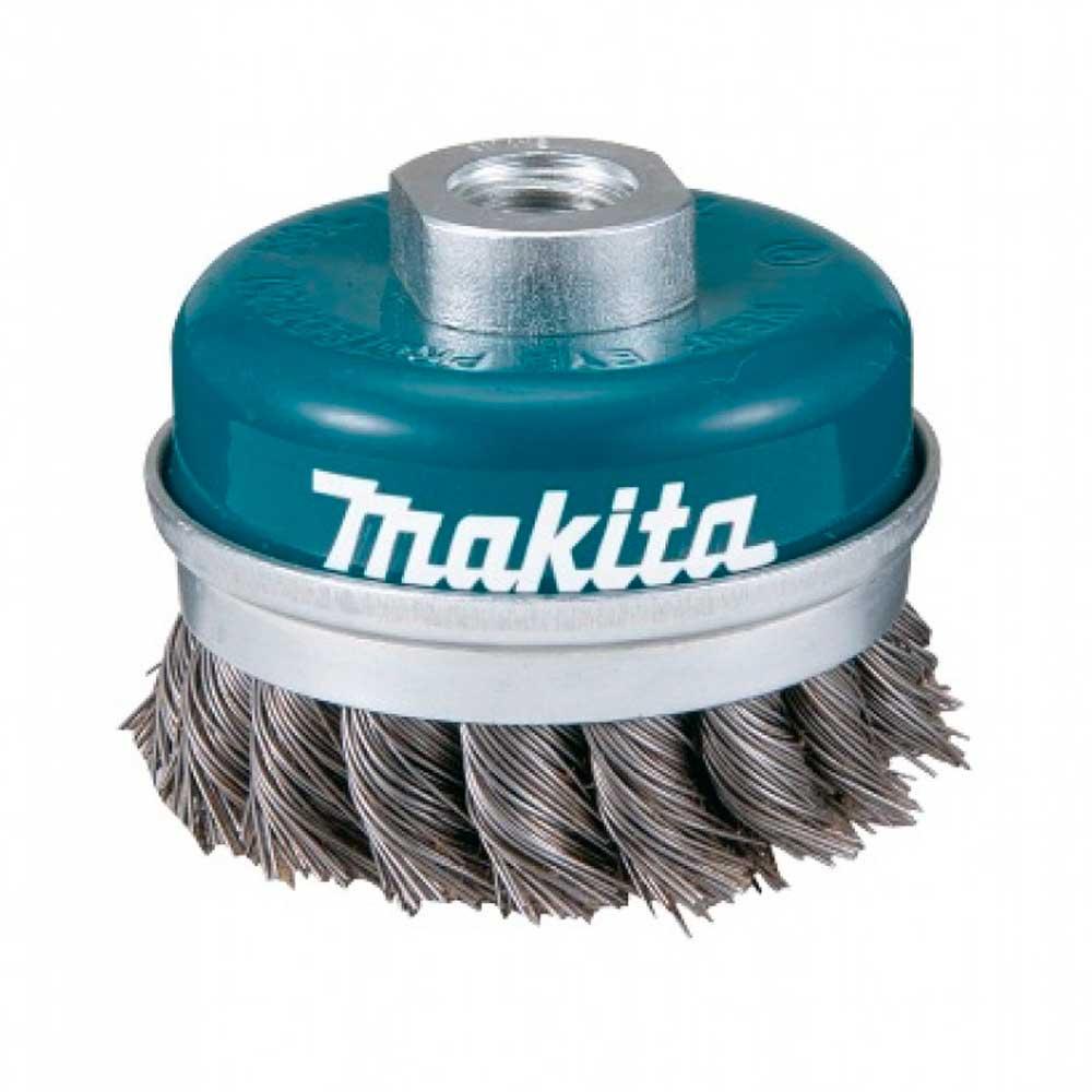 Escova de Aço Rotativa Copo Torcido 100MM D-29290 - MAKITA