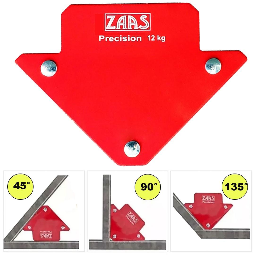 Esquadro Magnético 12kg Para Soldador Serralheiro ZAAS Precision 375,0001