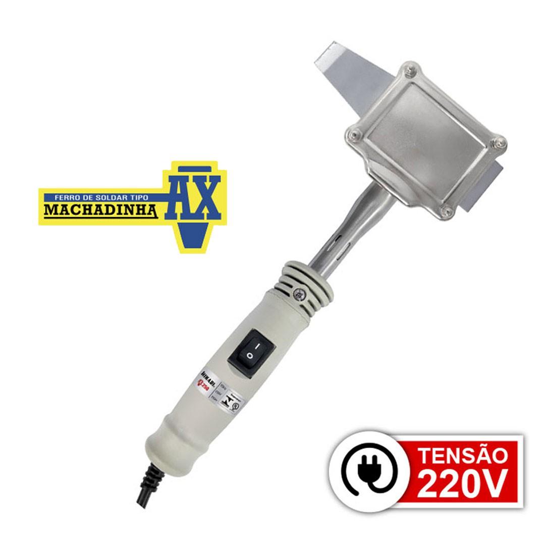 Ferro De Solda Machadinha 250W - 220V HIKARI AX-250  - 21K023
