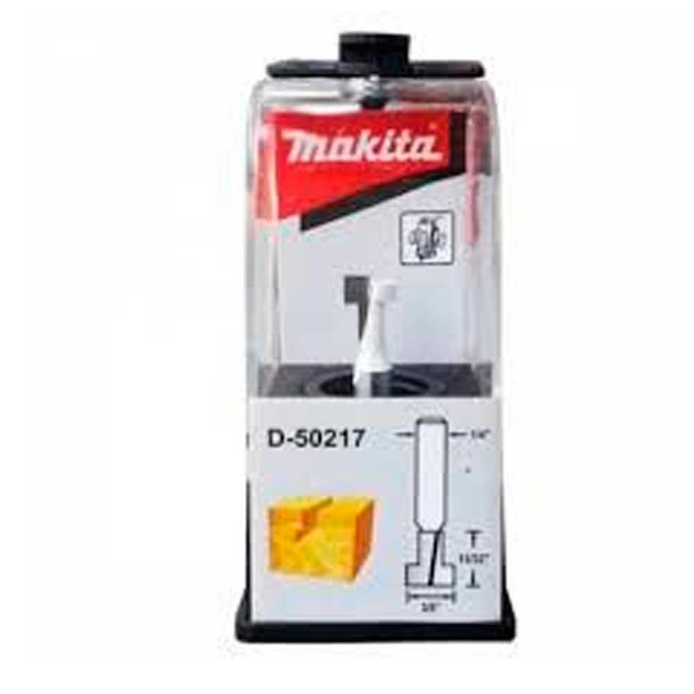 "Fresa para tupia para encaixes diâmantada 3/8"" haste 1/4"" d-50217 - makita"