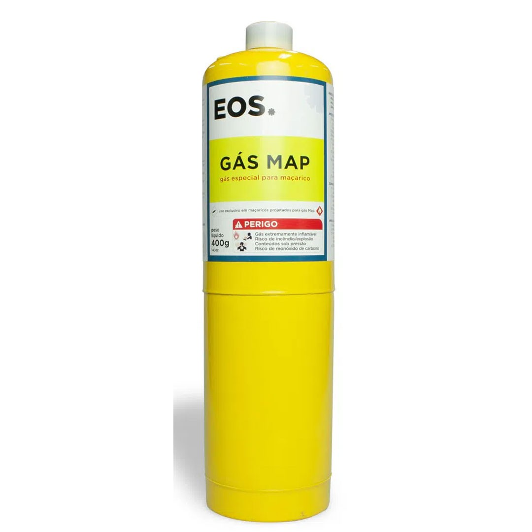 Gás Mapp Cilindro 400gr. EOS Profissional