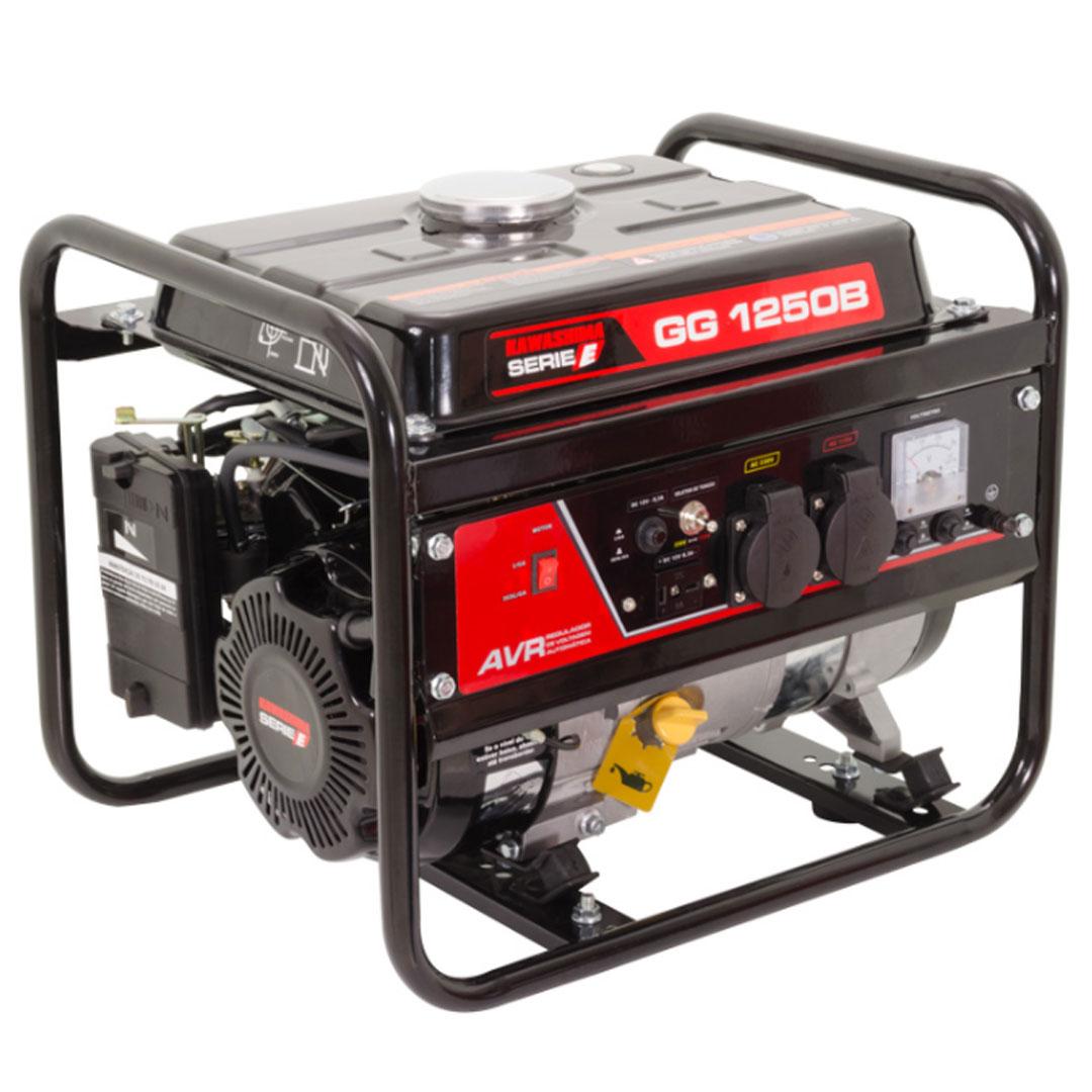 Gerador Gasolina 1200W Mono GG1250B KAWASHIMA 56-70100