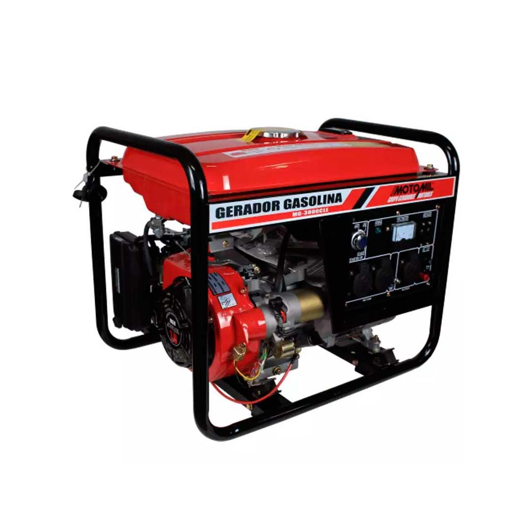 Gerador Gasolina 3000W 12VDC 12V MOTOMIL MG3000CL