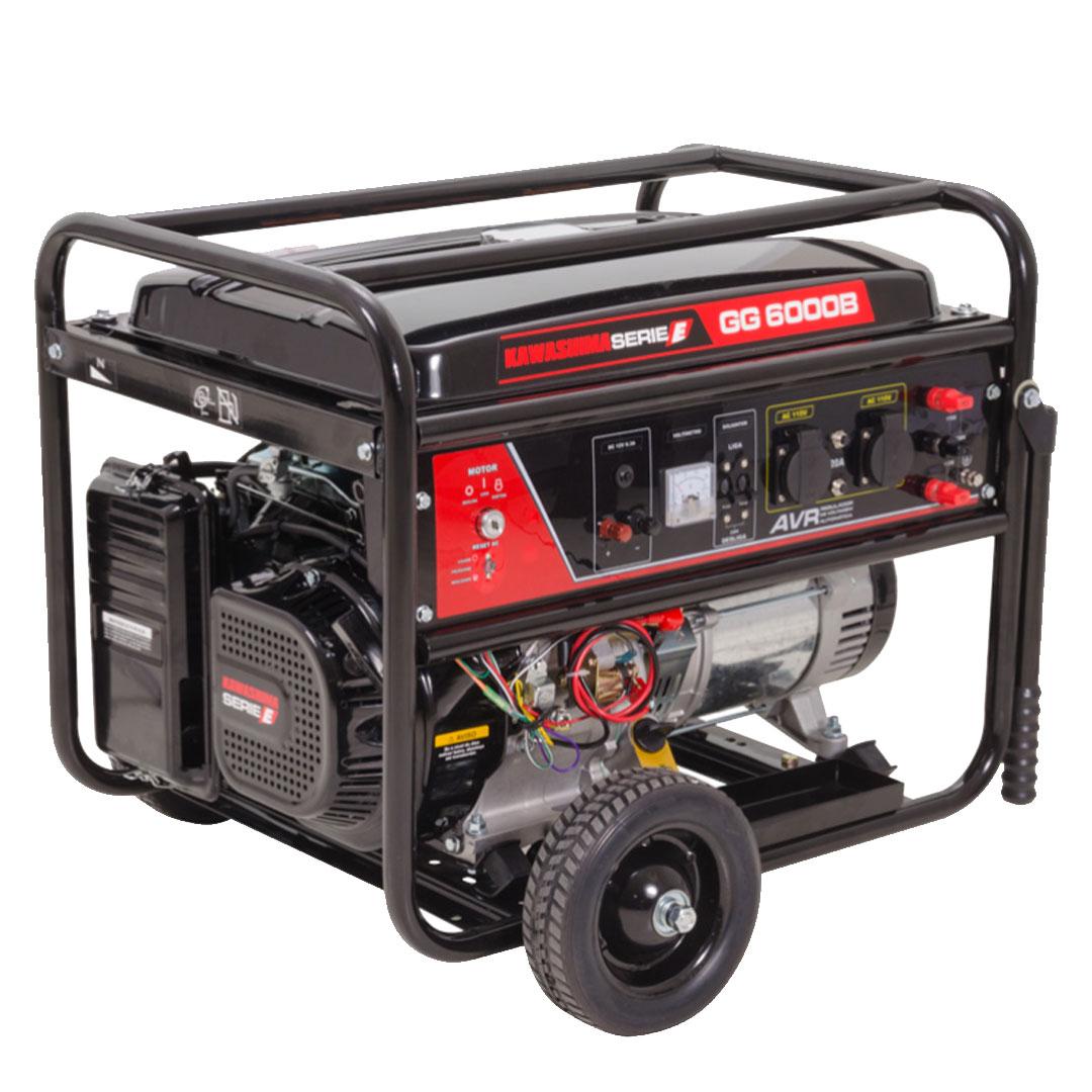 Gerador Gasolina 6000W Mono GG6000B KAWASHIMA 56-70130