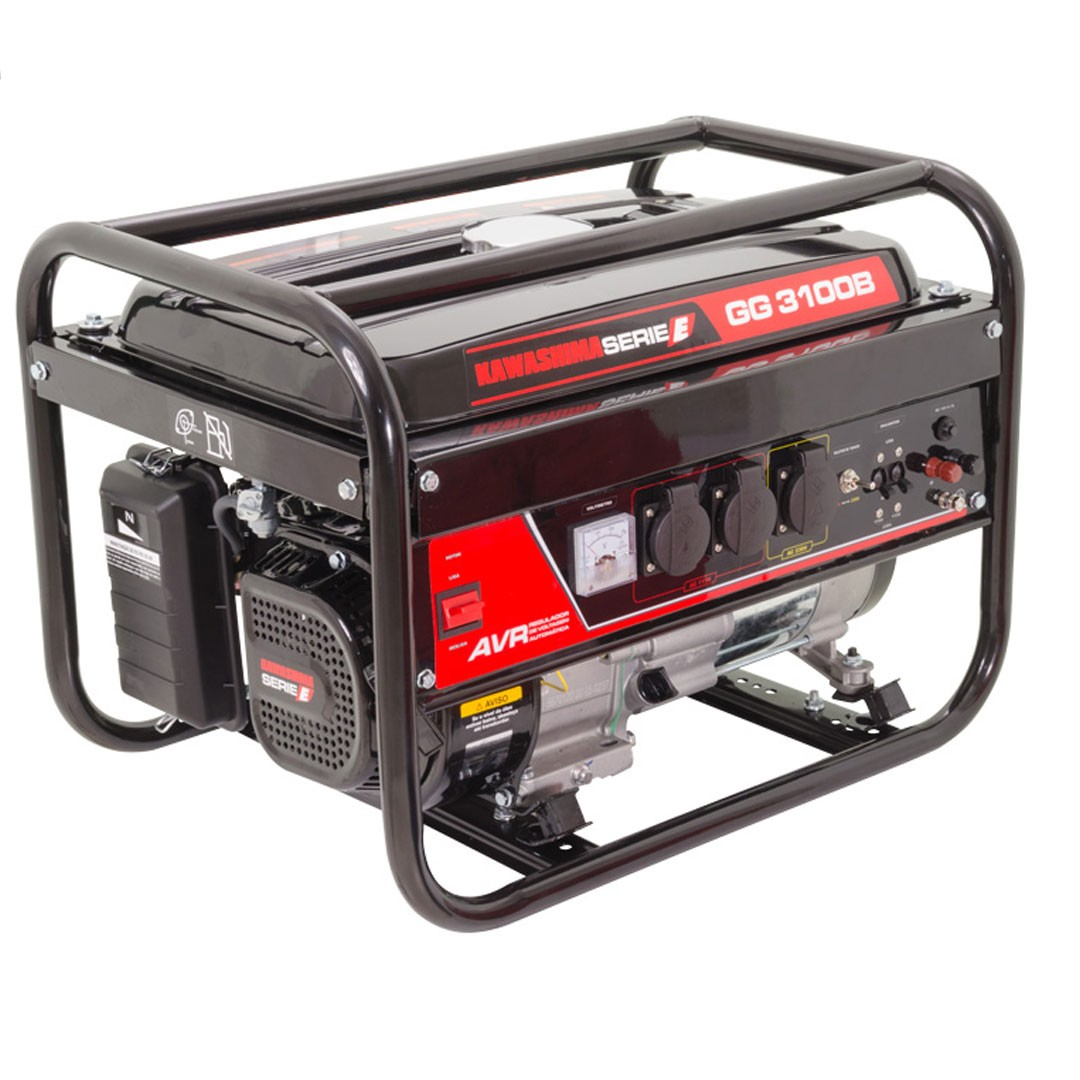 Gerador Gasolina 3000W Mono GG 3100-B KAWASHIMA 56-70120