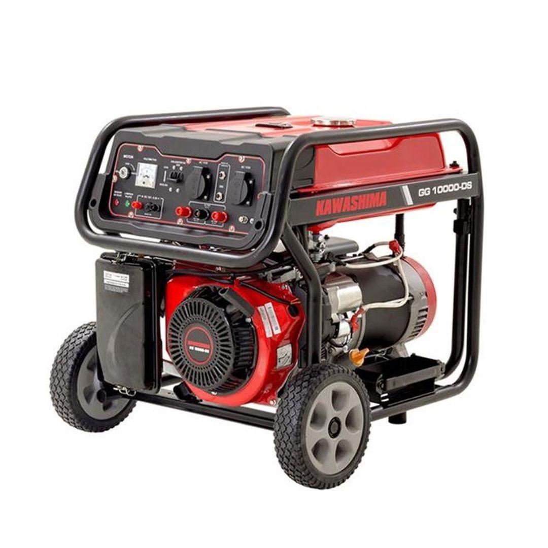 Gerador Gasolina GG 10000DS 9KWA Partida Elétrica Monofásico 110V/ 220V KAWASHIMA 56-00730