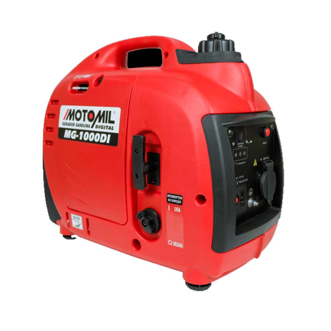 Gerador Inverter Digital 1000w 220vac Mg-1000di 1Kwa - Motomil