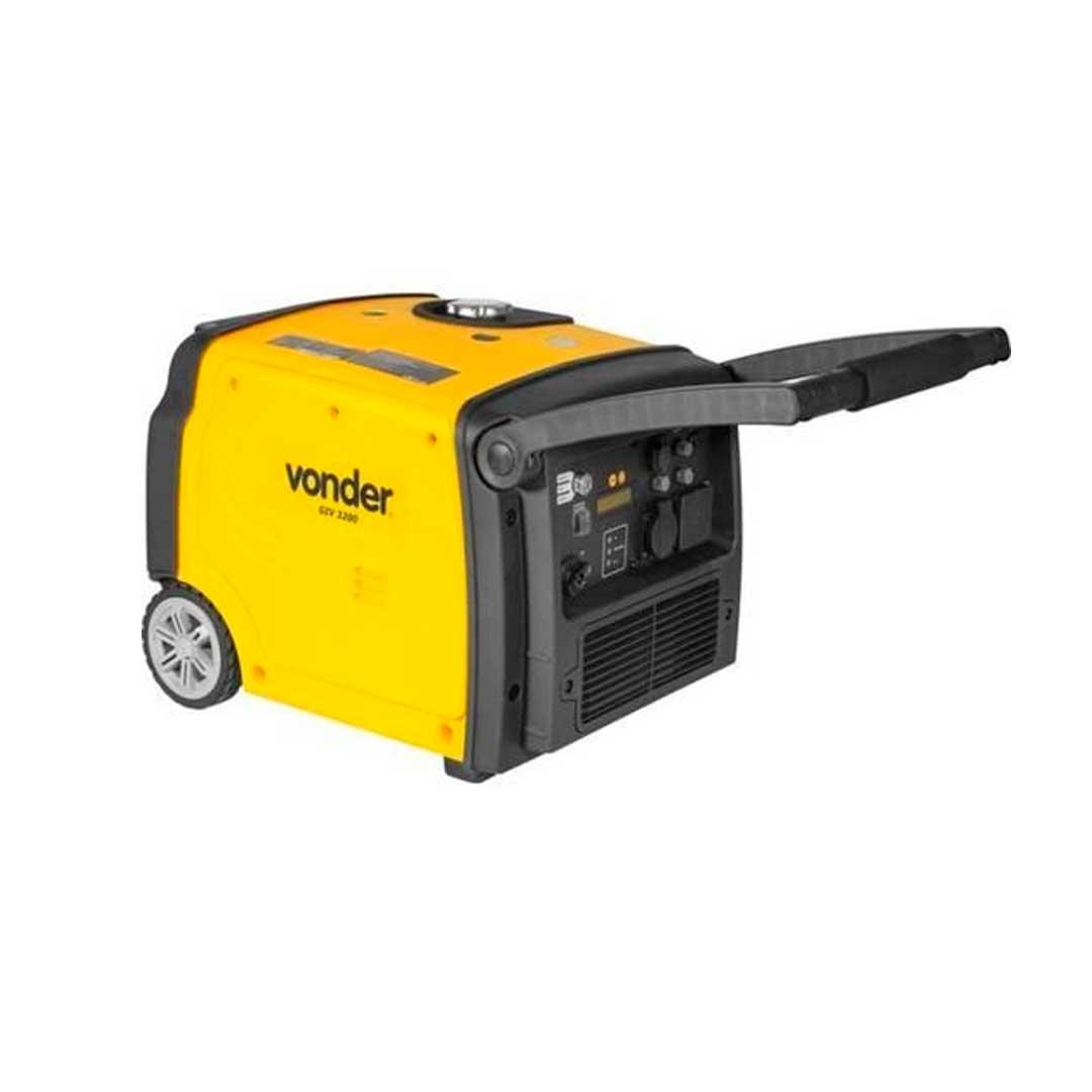 Gerador Inverter Digital 3200w 12vdc 12v Vonder Giv3200 68 63 32 02 20