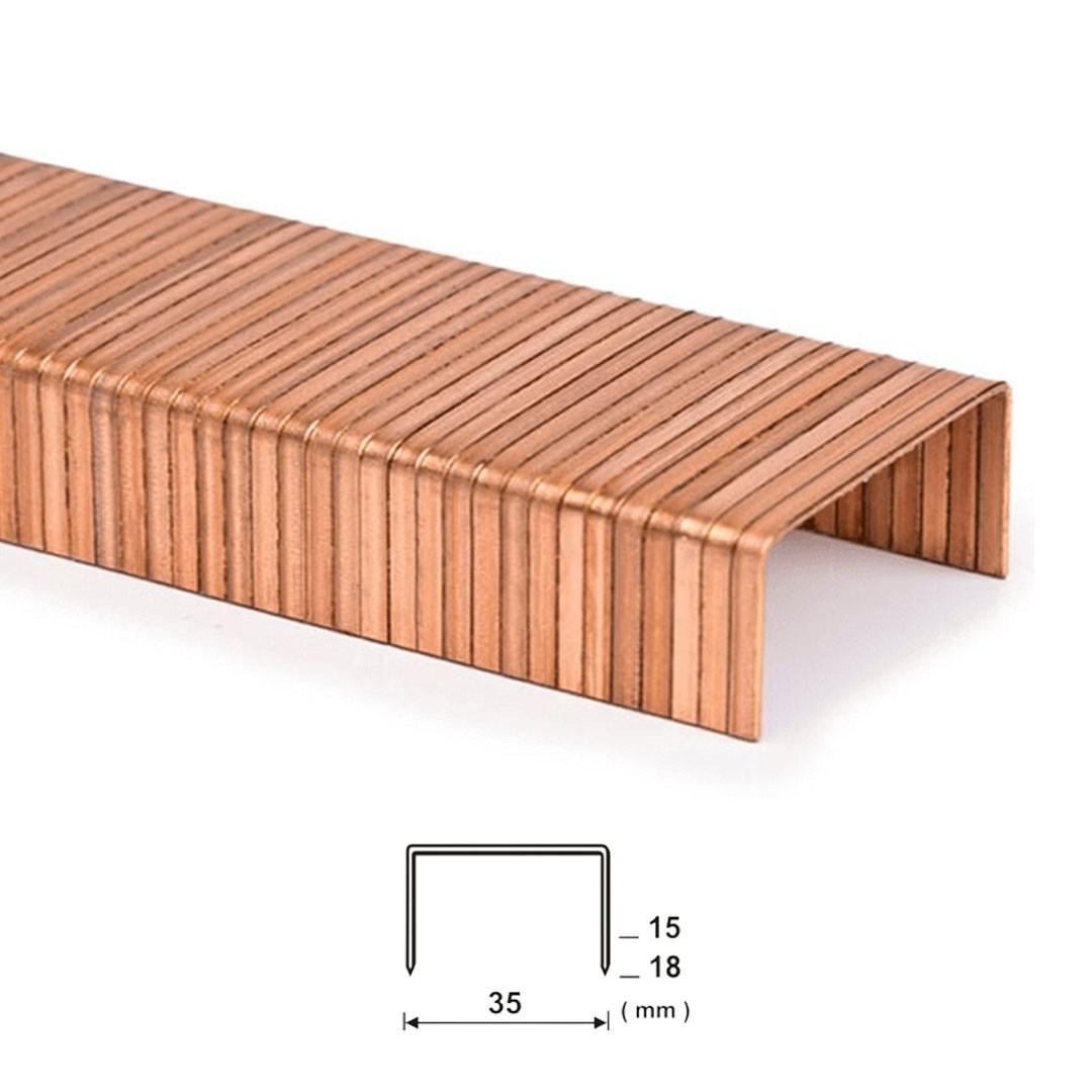 Grampo para Fechamento de Caixa de Papelão Box 35/18mm Guara com 3.200 unid.