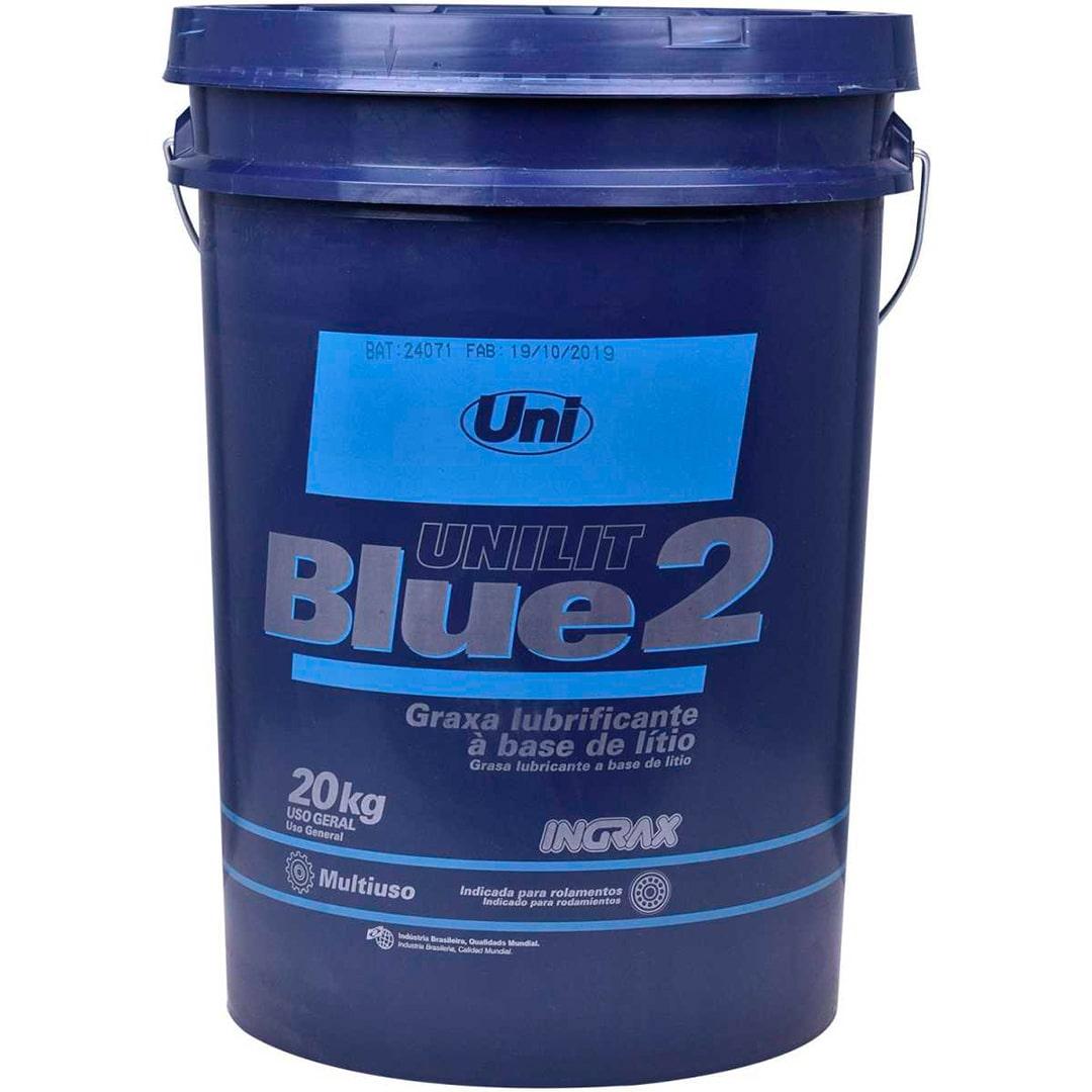 Graxa Unilit Azul Blue-2 Ingrax Balde 18 Kg. - 16329