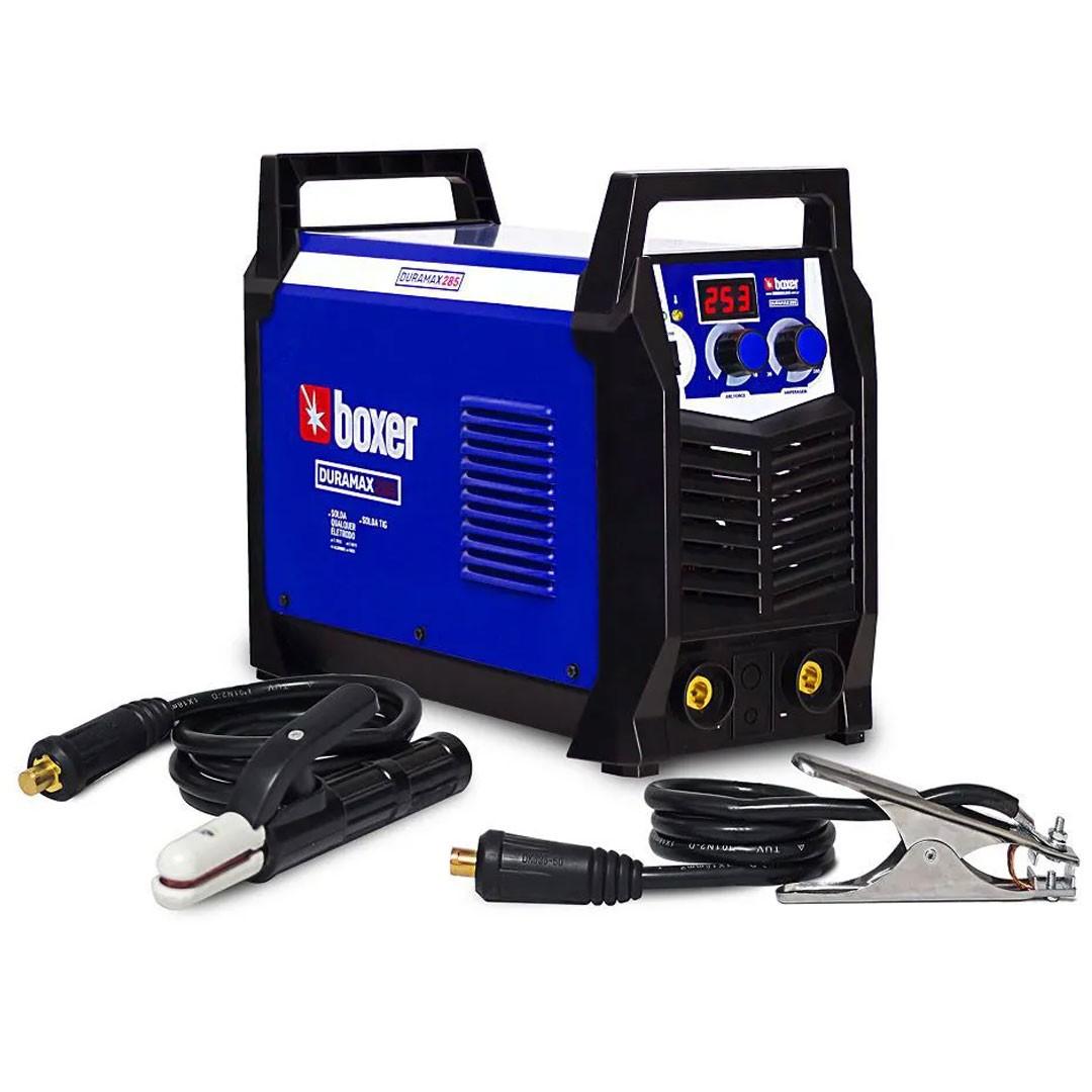 Inversora de Solda 250 Amperes Boxer DURAMAX 285 MMA/TIG Mono 220V