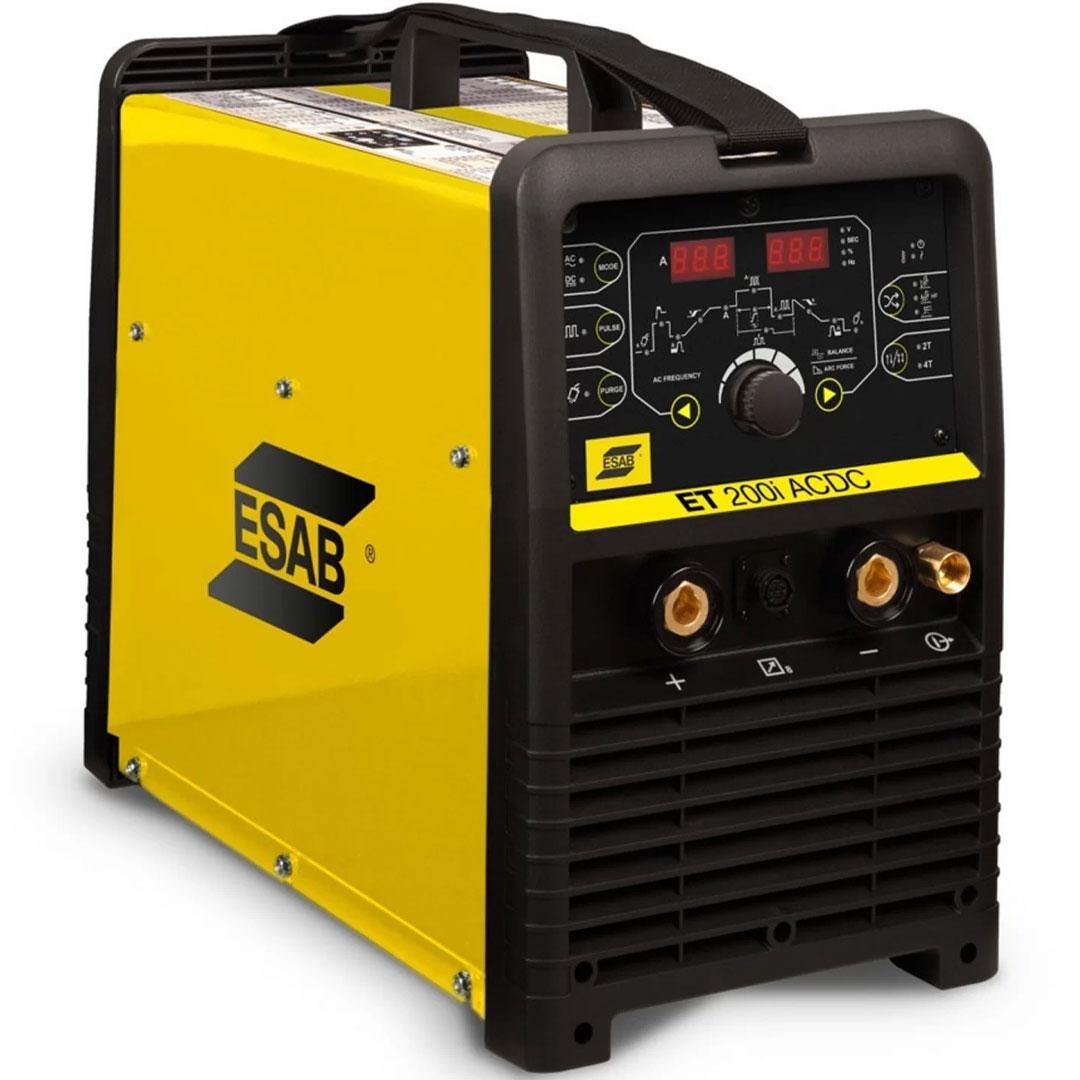 Inversora de Solda TIG AC/D ESAB ET-200I MONO 220V