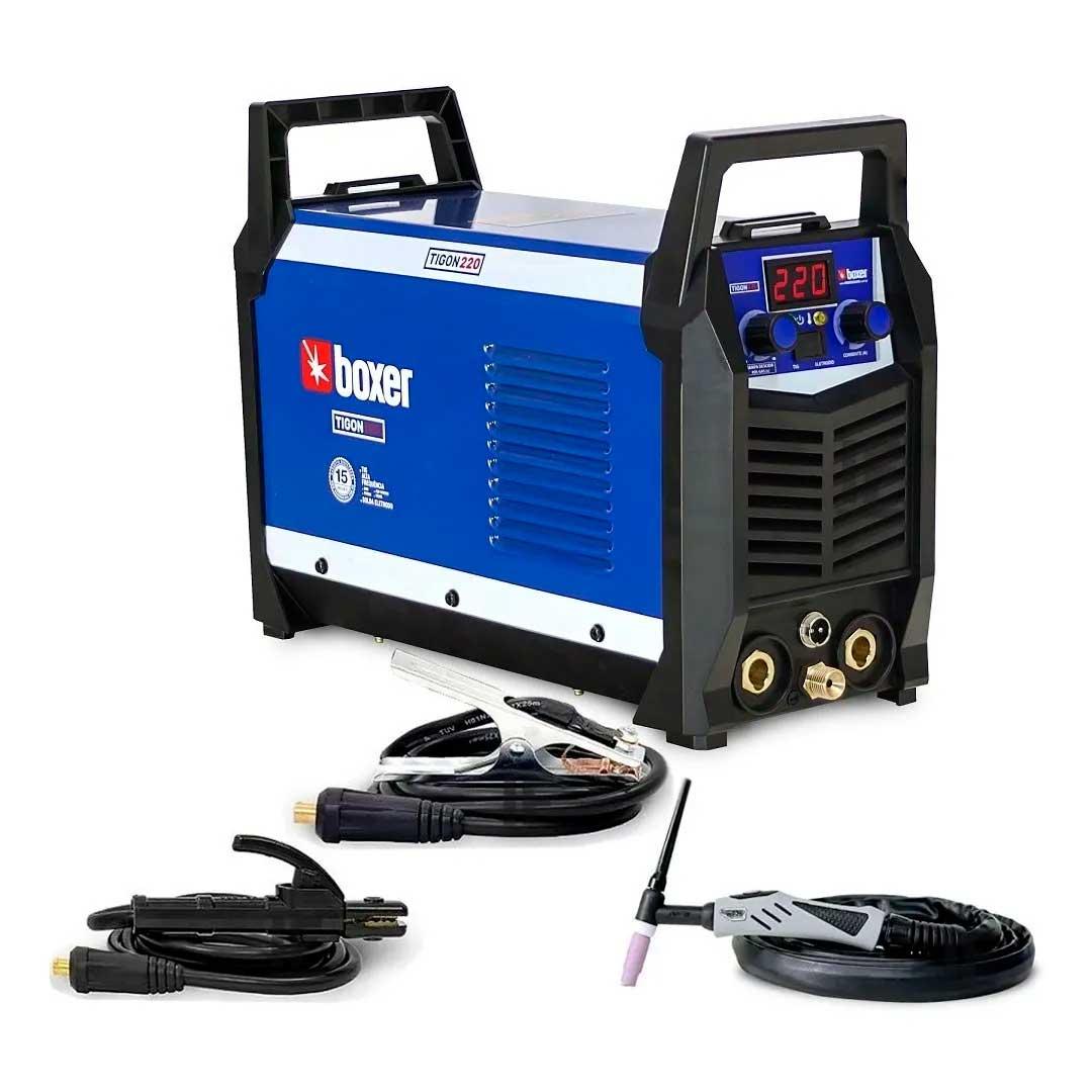 Inversora De Solda Tig Dc / Mma Boxer Tigon 220 Mono (220V)
