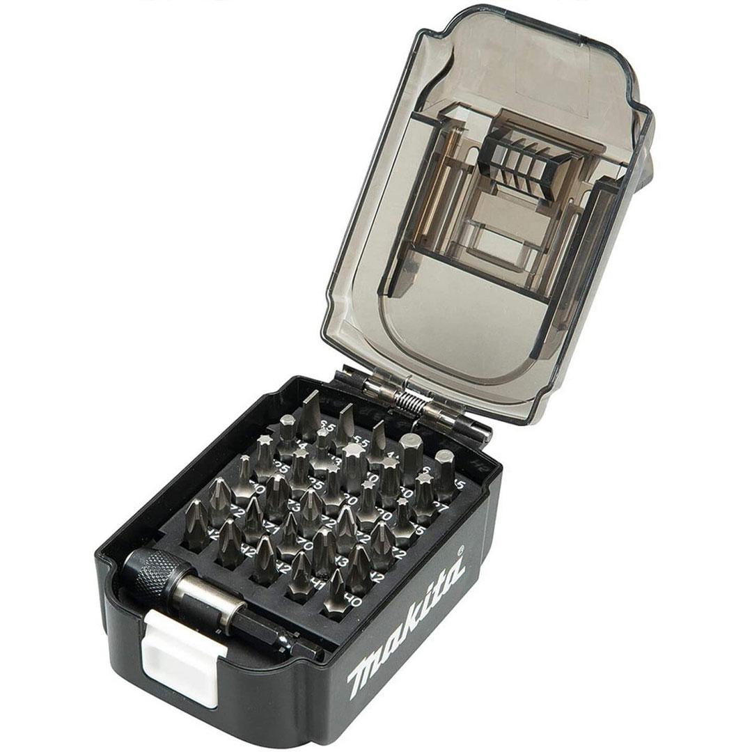 Jogo De Bits 31 Pcs Estojo Bateria Makita D-68317