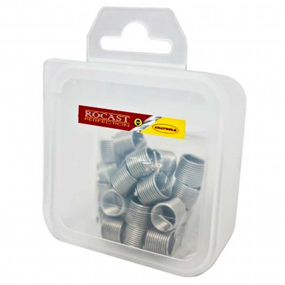 Jogo de Inserto Rosca Postiça M8 X 1,25t - 25 Peças -  Rocast