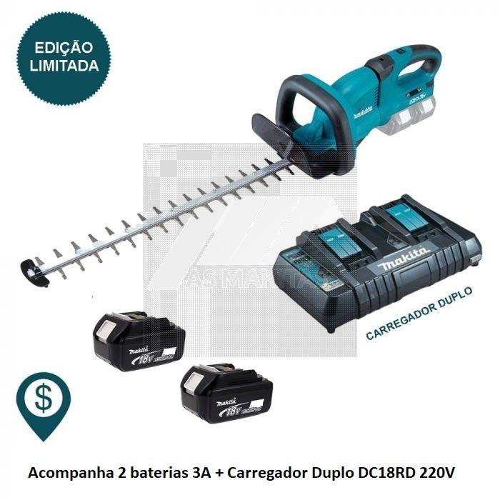 KIt Aparador De Cerca Viva A Bateria 36v Cxt DUH551Z-220V-P Makita