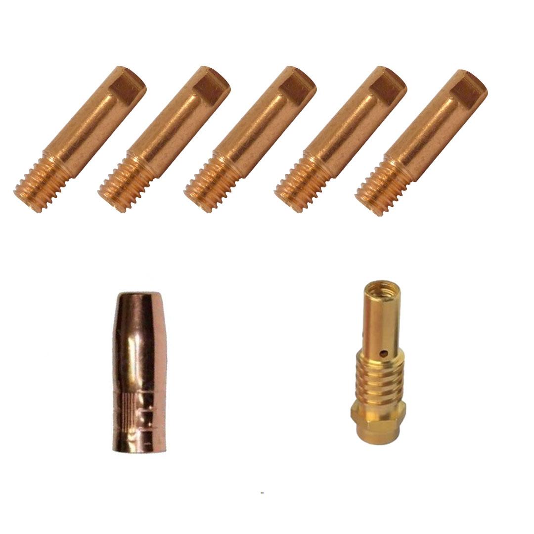 Kit de Consumíveis para Arame 0.8mm Tocha SUMIG SU210 / SU220