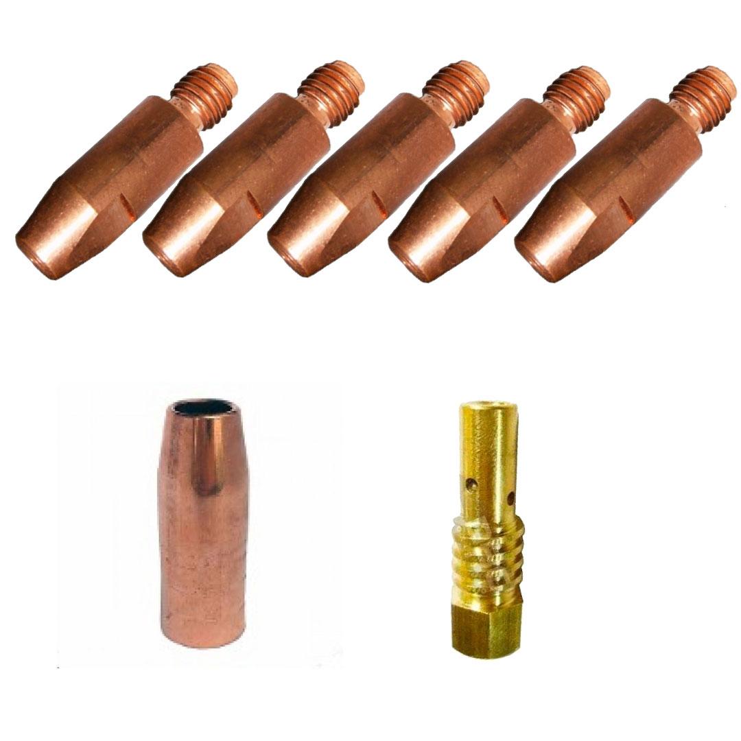 Kit de Consumíveis para Arame 0.8mm Tocha SUMIG SU250 / SU260