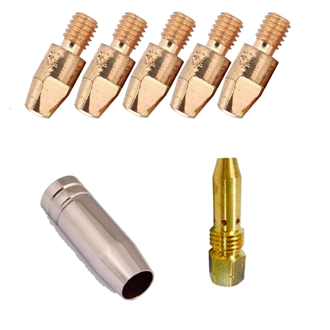Kit de Consumíveis para Arame 1.0mm Para Tochas TBI 153/253
