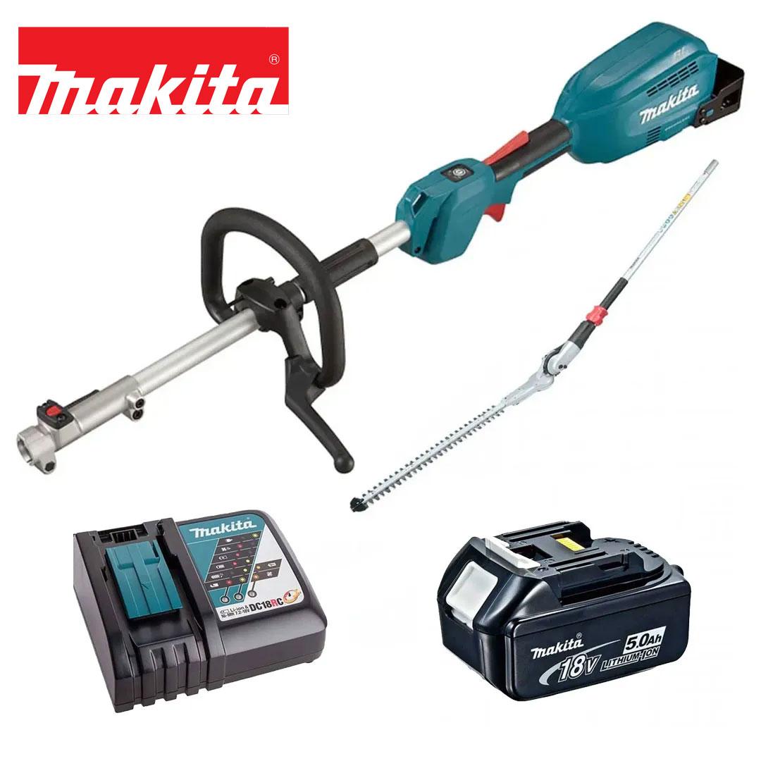 Kit Multifuncional 18V DUX18Z + Aparador Cerva Viva + Bat 5AH BL1850 + Carregador DC18RC Bivolt  - Makita