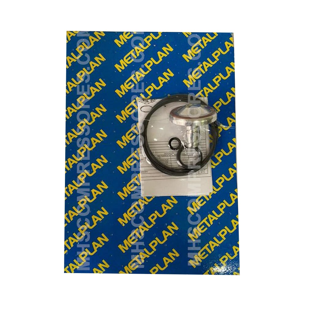 Kit Reposicao Valvula De Admissao Rotor 10 Hp (RH10) Metalplan