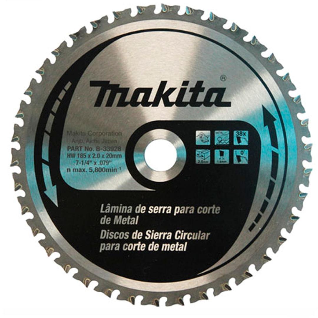 Lamina De Serra Circular 185mm (7.1/4