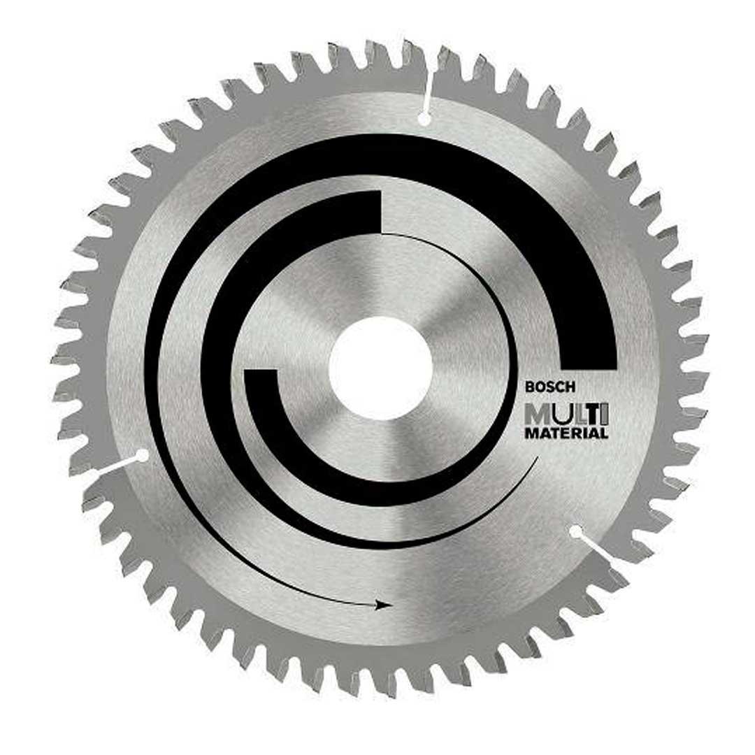 "Disco De Serra Circular 254mm 10"" Multimaterial 100d Bosch 2608642202"