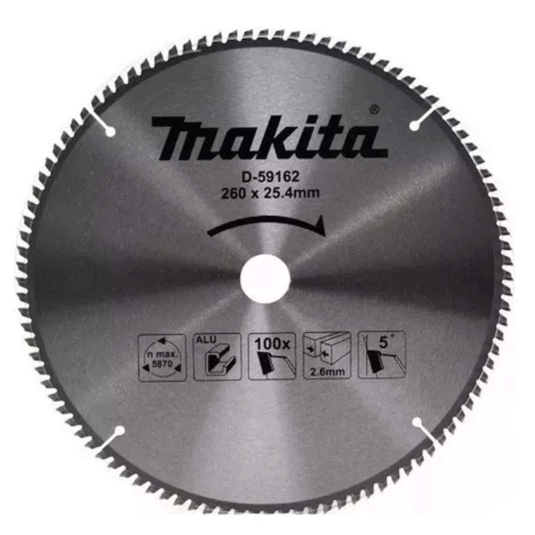 Lamina De Serra Circular 260mm (10
