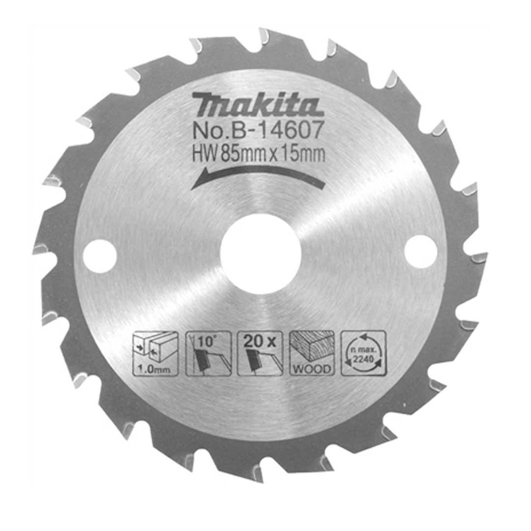 Disco De Serra Circular 85mm 20d B-14607 Makita