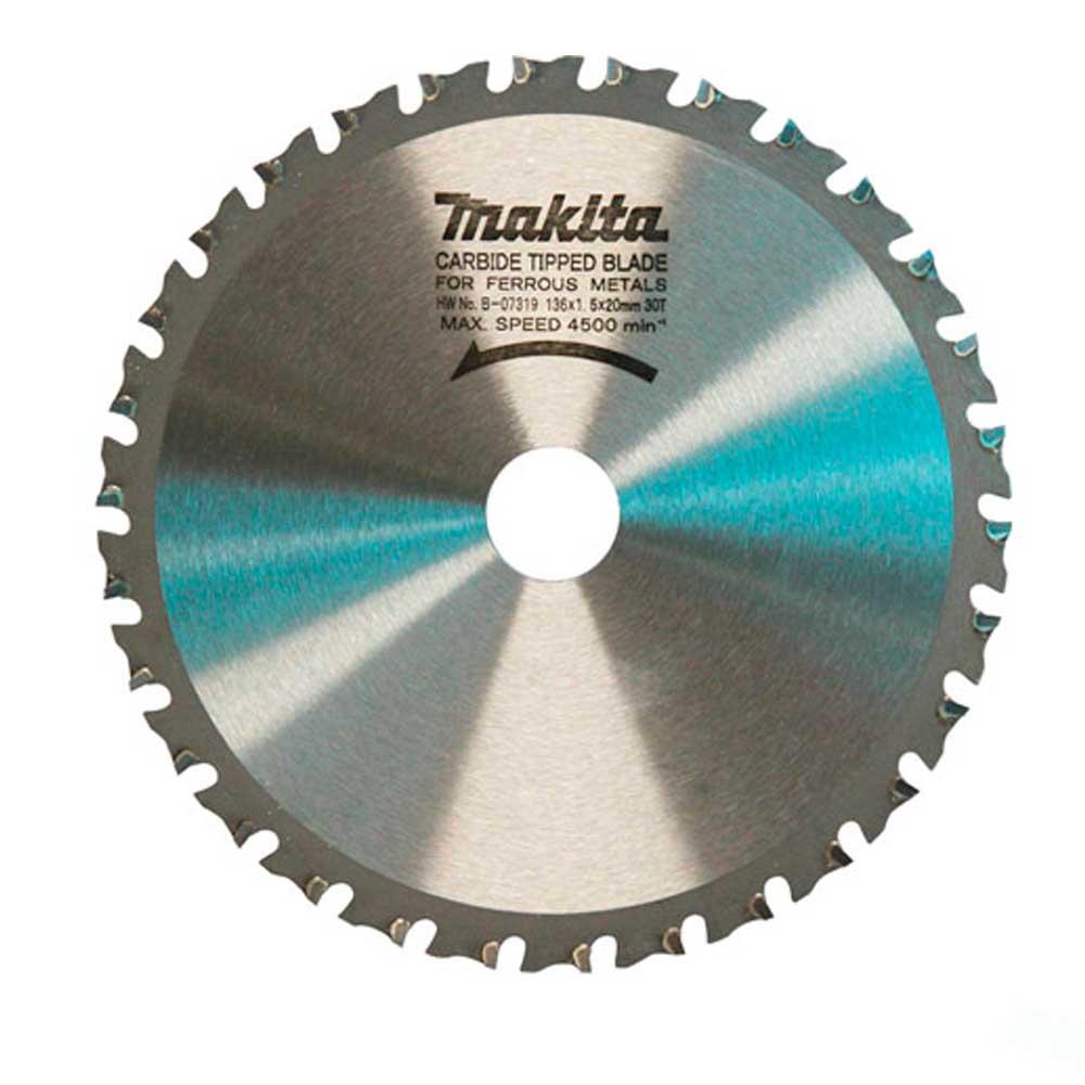 Disco de Serra Circular 136mm 30D B-07319 Makita