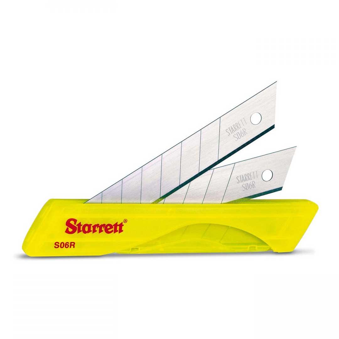 Lamina Estilete 18MM C/ 10 Pcs - KS06R - STARRETT