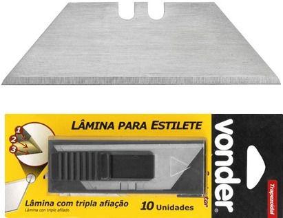 Lamina Estilete 18MM Trapezoidal - VONDER
