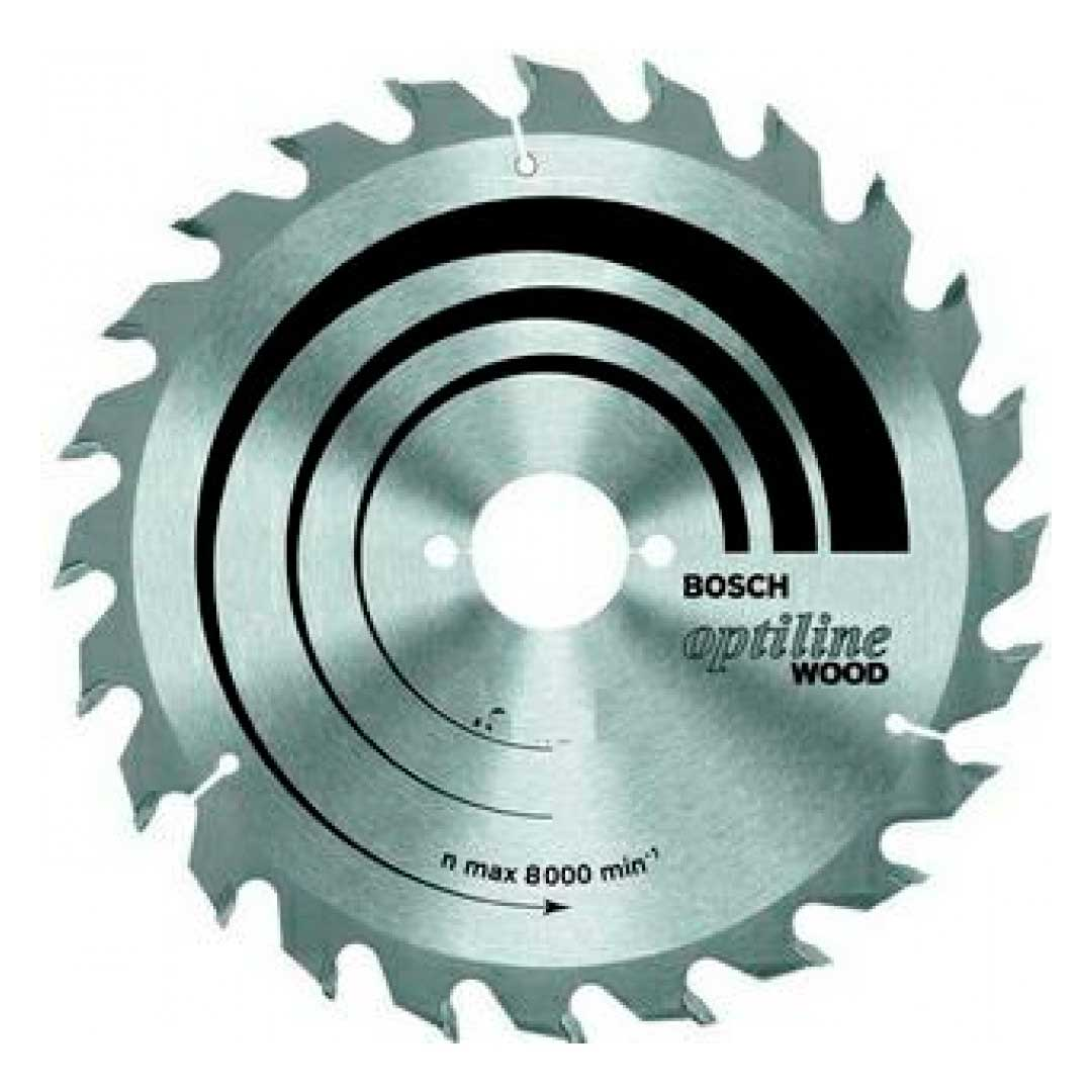 Disco Serra Circular 250mm 10' 60d Optiline 2608640908-Bosch