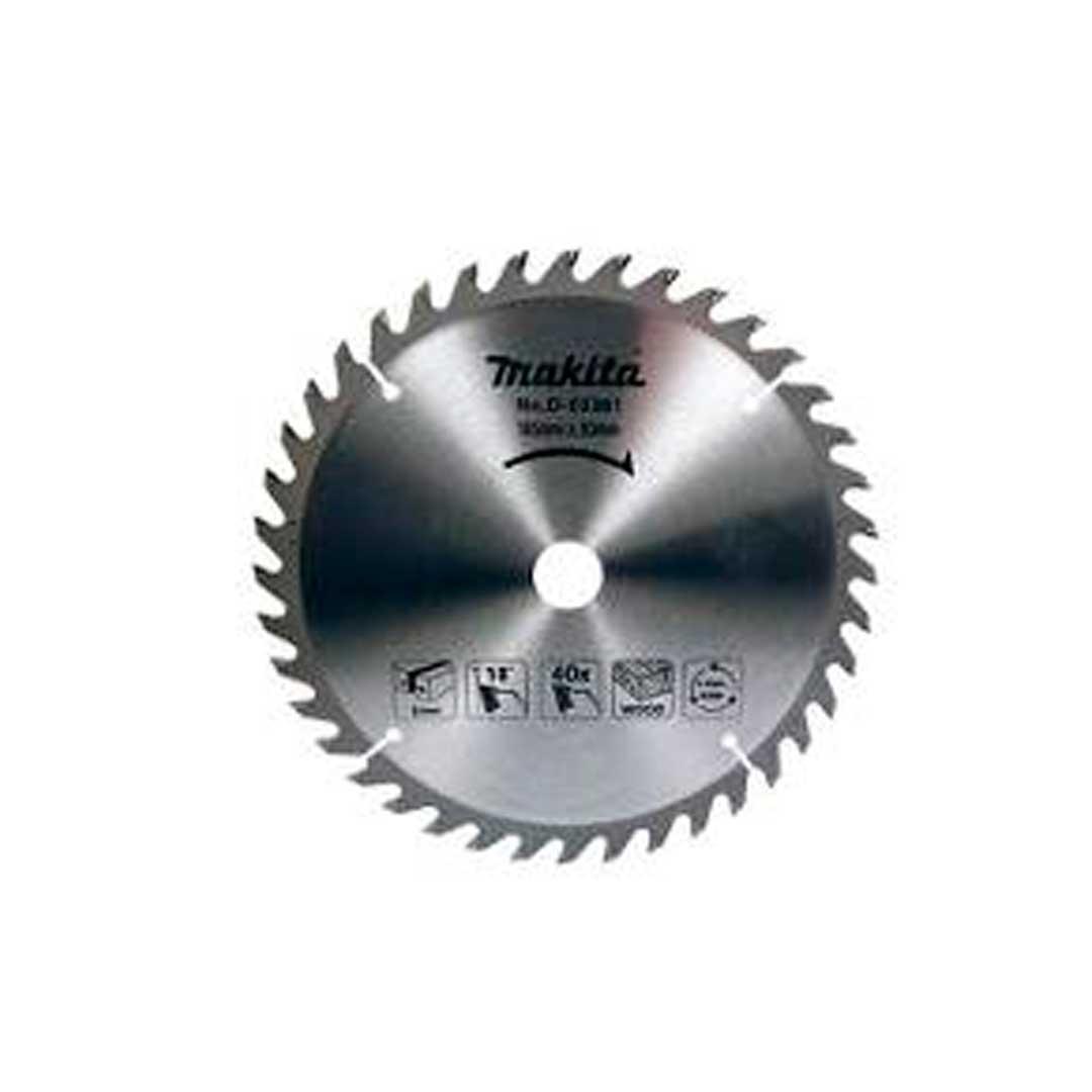 """Disco Serra Circular 260mm 10"""" 40d Makita B-14277"""