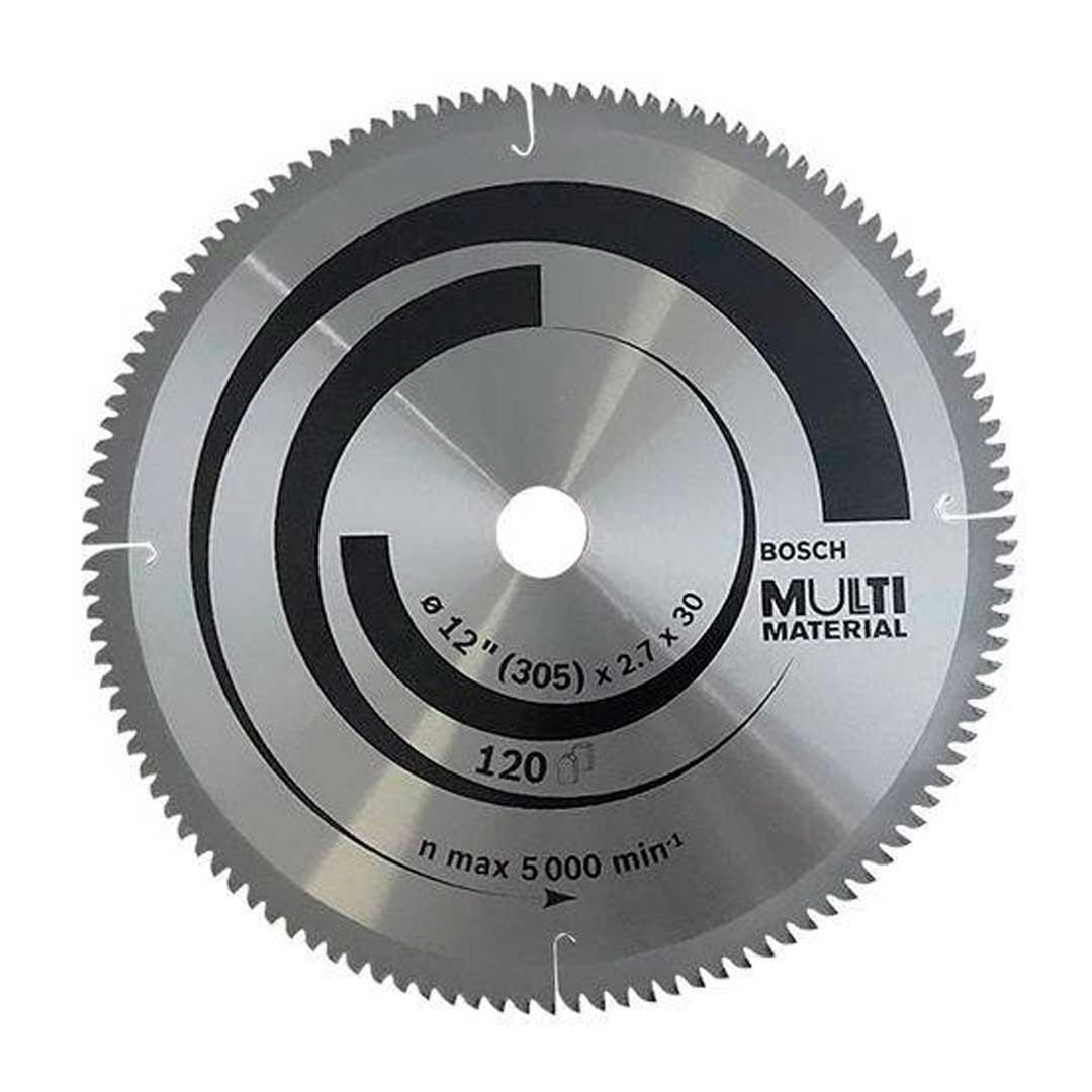 "Disco Serra Circular 305mm 12"" 120d Multimaterial 2608642210-Bosch"