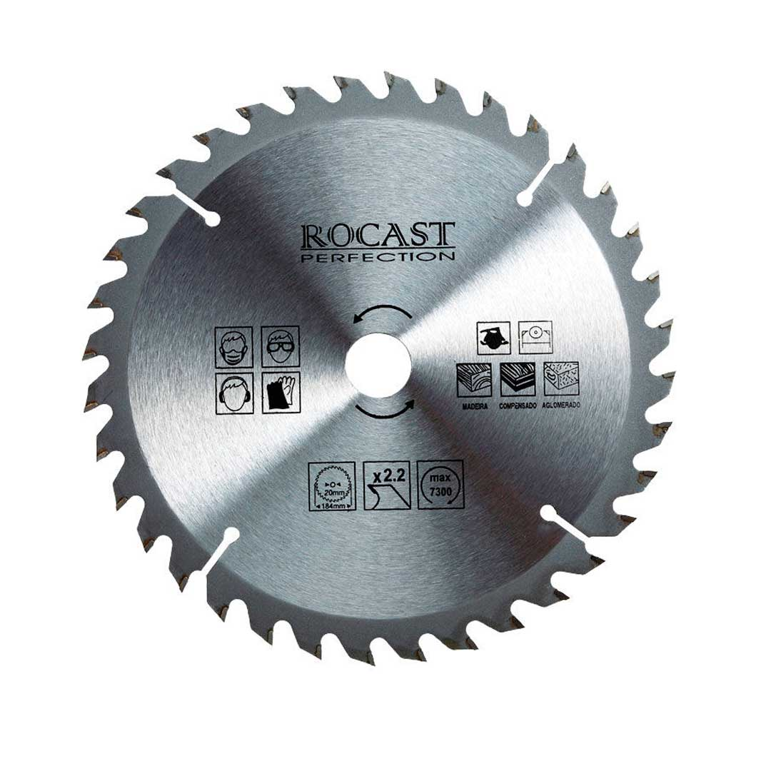 """Disco Serra Circular 350mm 14"""" 24d 35,0025-Rocast"""