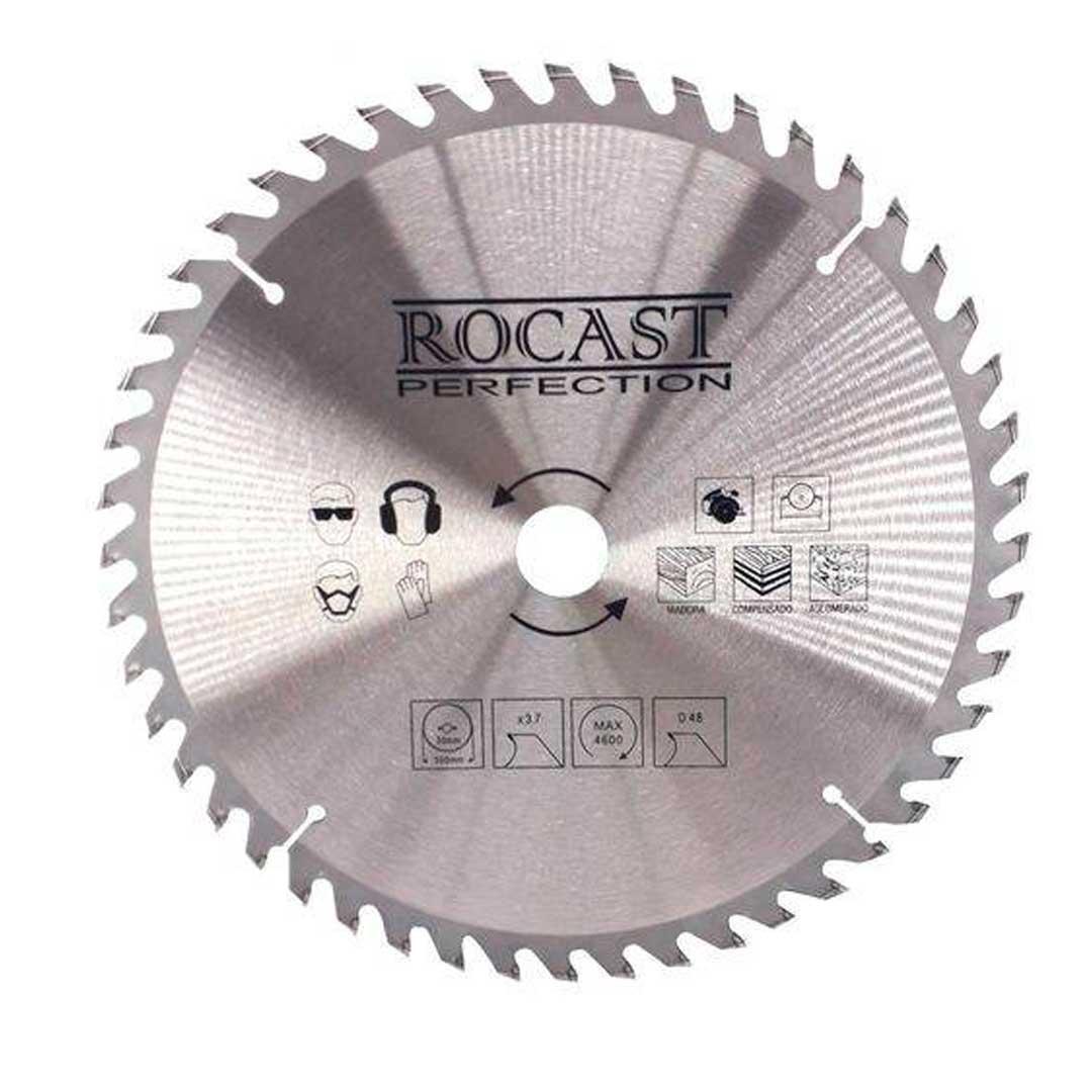 """Disco Serra Circular 350mm 14"""" 48d 35,0017-Rocast"""