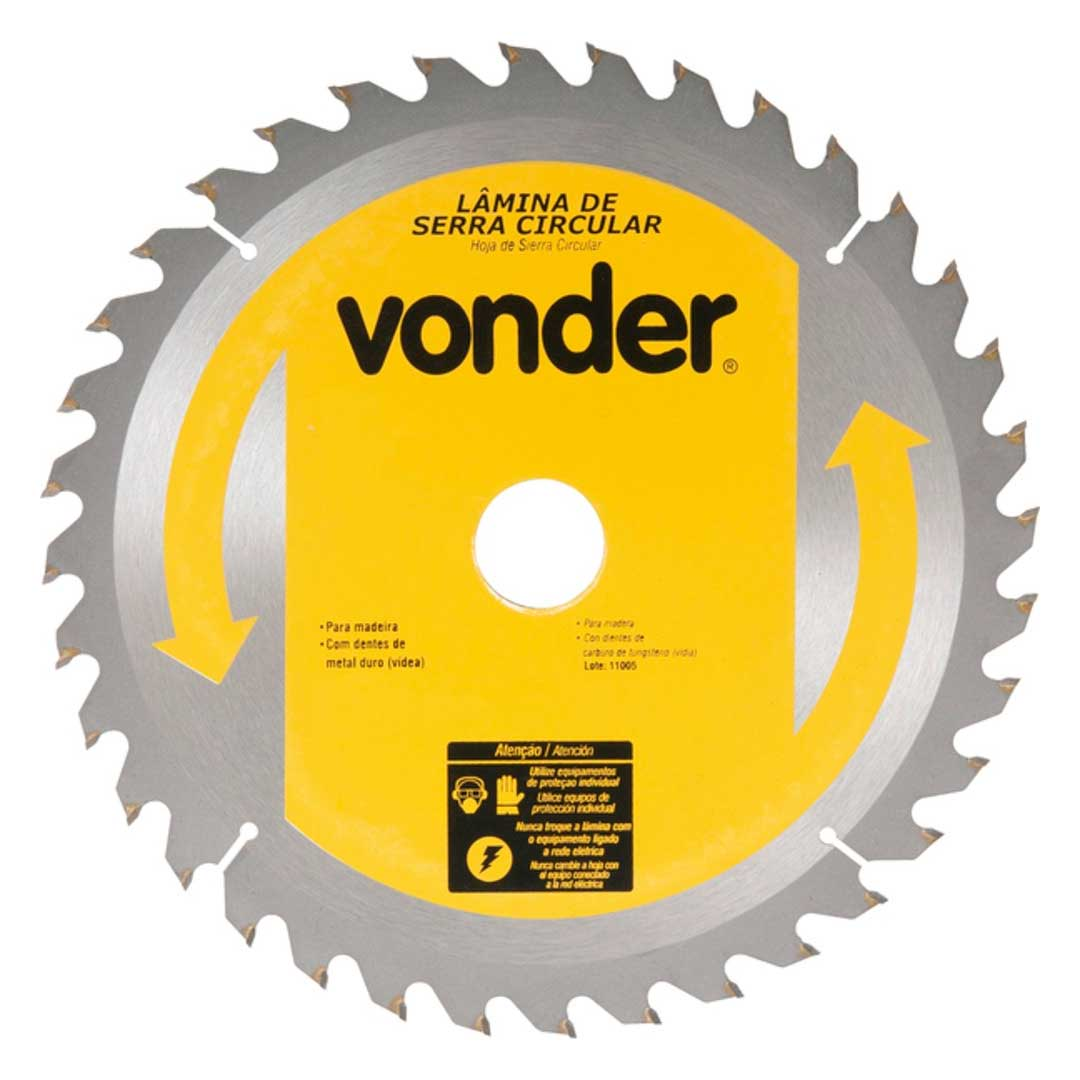 "Disco Serra Circular 450mm 18""  48d 4650450480 Vonder"