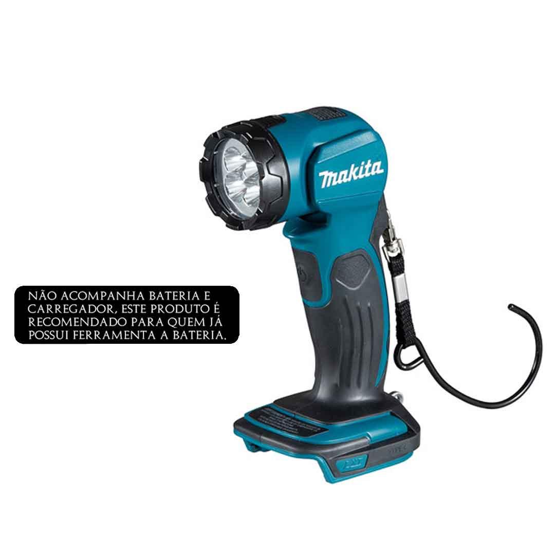Lanterna A Bateria 18v Makita Led DML815
