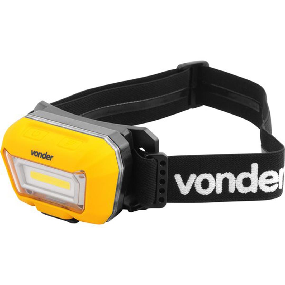 Lanterna De Cabeca Recarregavel Vonder Led Cob LCV300 - 80 75 003 300