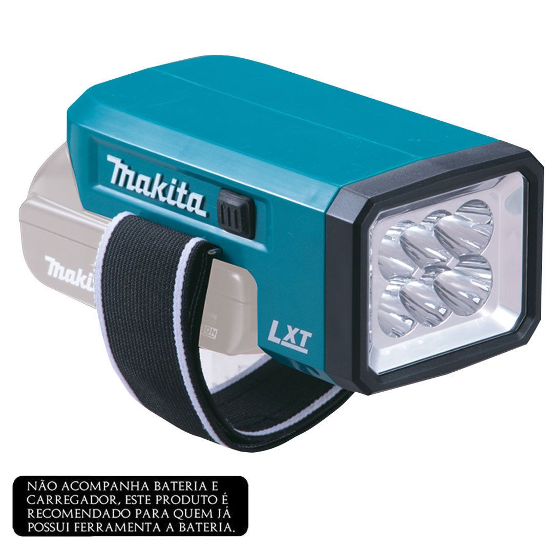 Lanterna Led a Bateria 18V MAKITA DML186