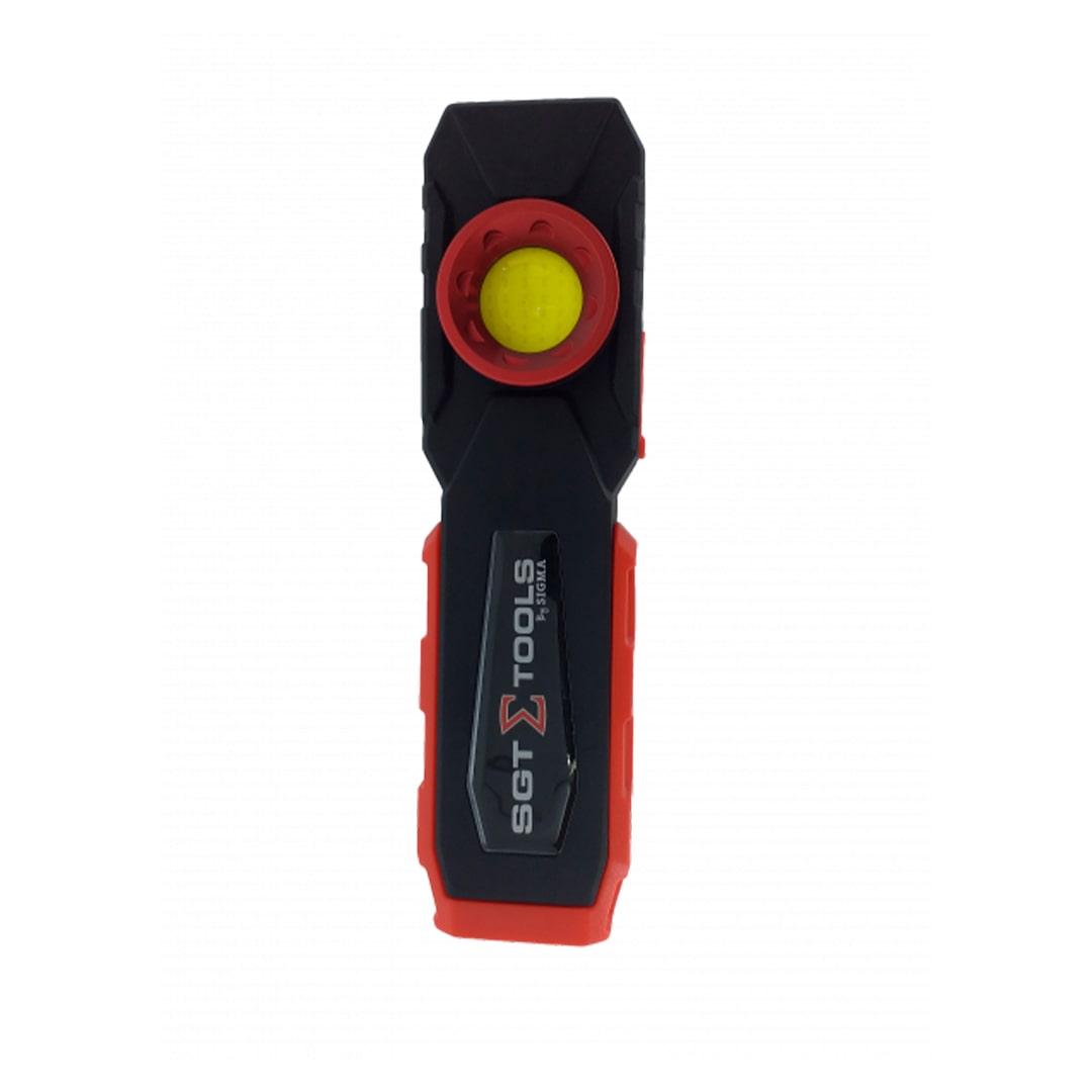 Lanterna Recarregavel Inspecao Colorimetro LED 10W Sigma SGT-8502