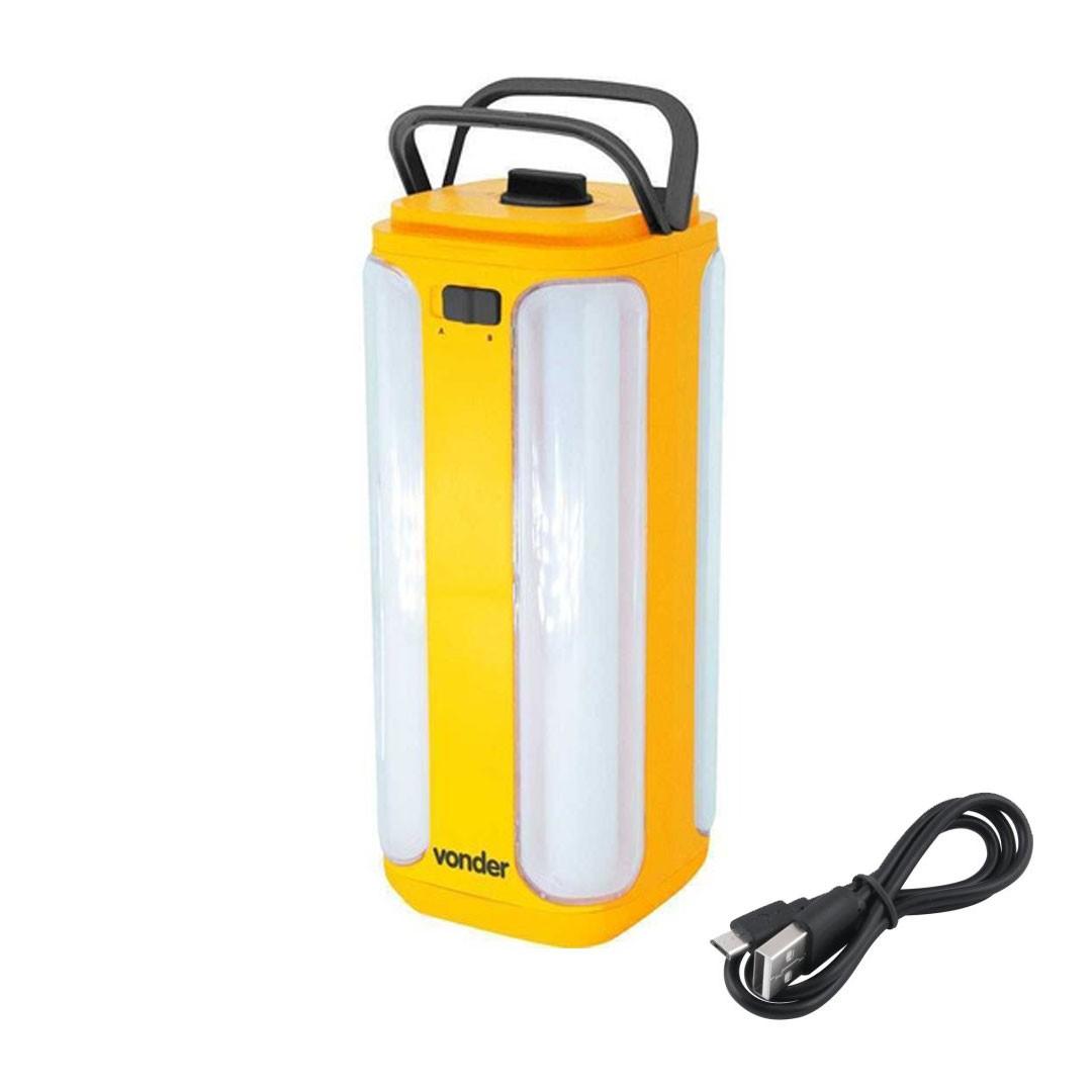 Lanterna Recarregável LED SMD VONDER 80.75.084.350