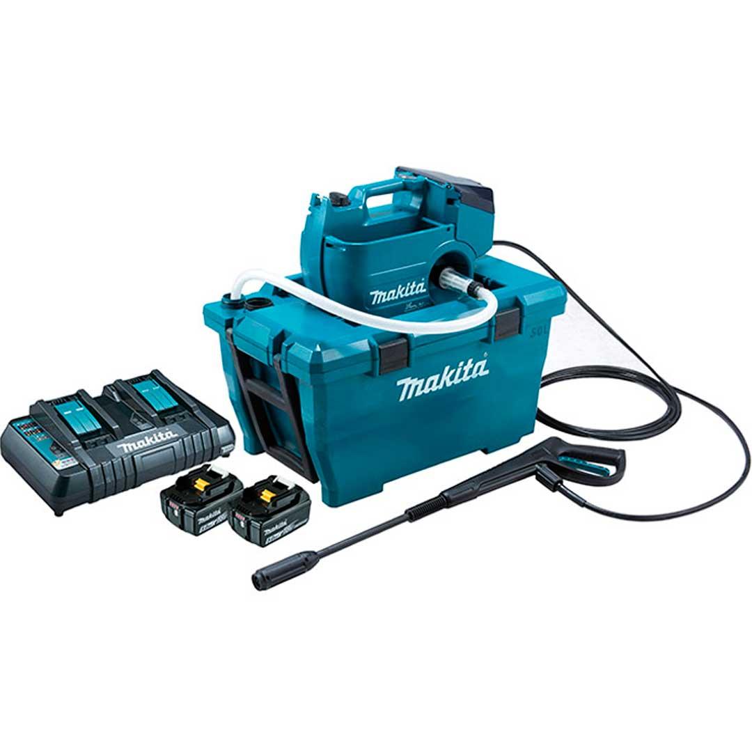 Lavadora De Alta Pressao A Bateria 36v (18v+18v) Makita Dhw080pt2-220v(220v)