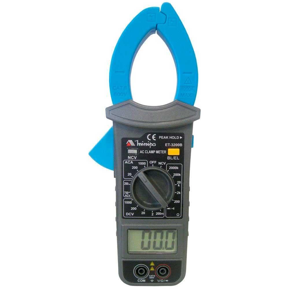 licate amperímetro digital - ET-3200B - Minipa