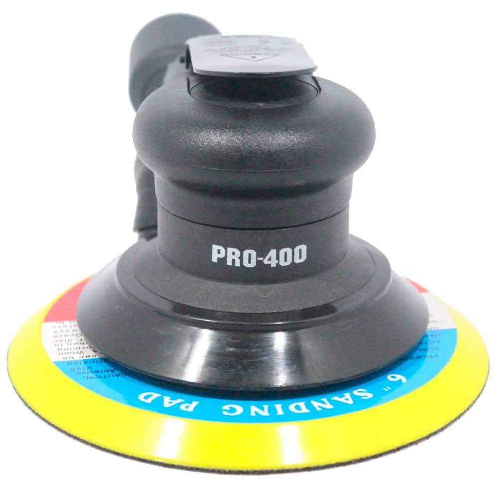 Lixadeira Roto Orbital Pneumática 6 Pol. com Aspiração LDR2 PRO-400