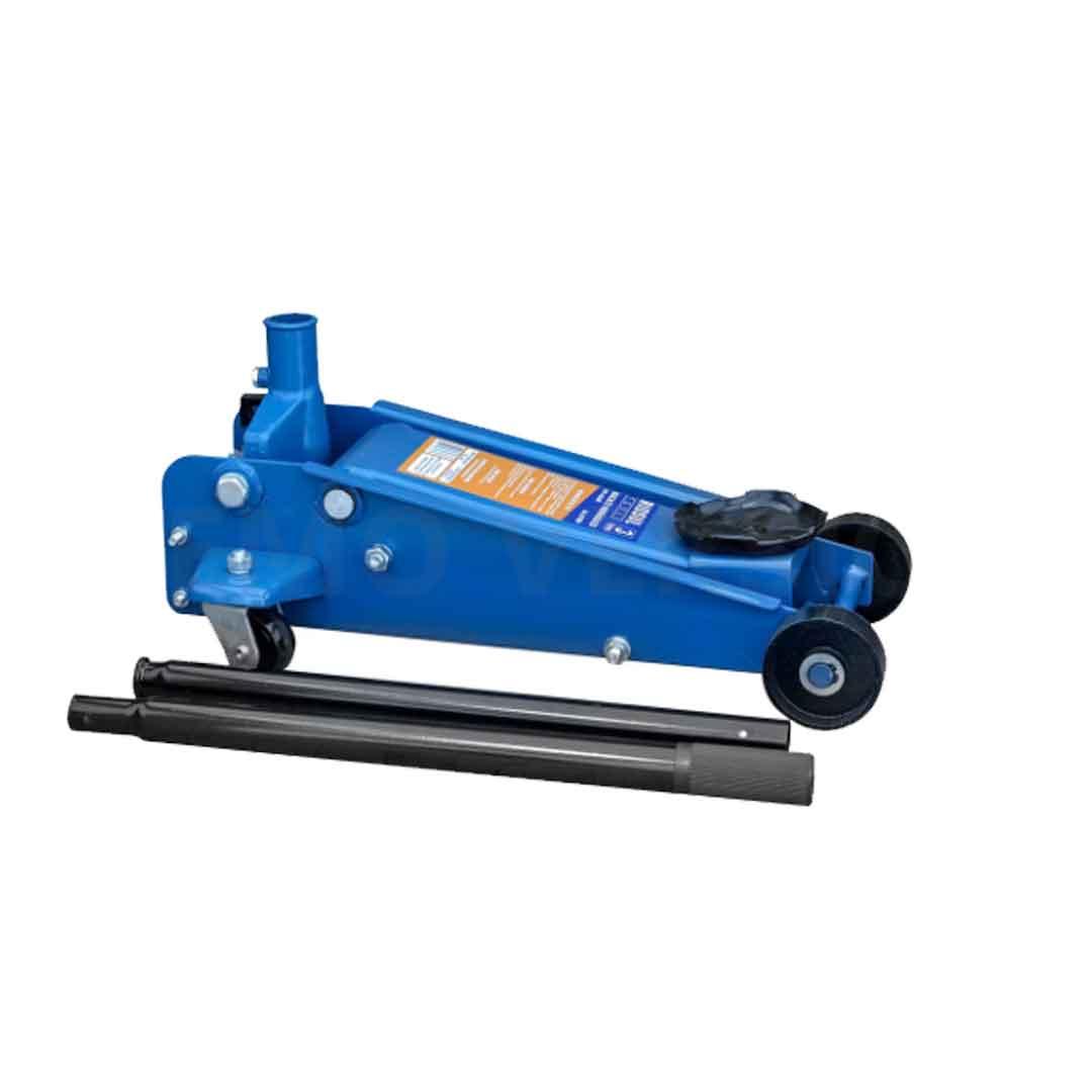 Macaco Hidráulico Tipo Jacaré 3T com Rodas de Ferro - RIOSUL TOOLS-R070020